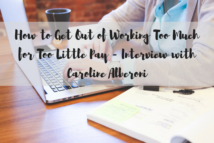 working too much for too little pay