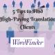 translation clients